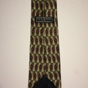 Guess Accessories - GUESS Vintage Silk Tie   USA American Classics